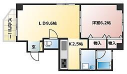 Y・House[802号室]の間取り