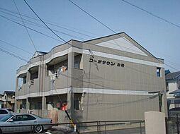 コーポタウン別明[1階]の外観