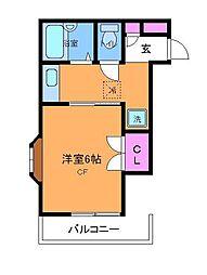 シュロスプリーマ[3階]の間取り