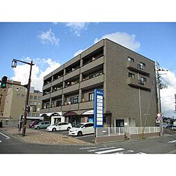 新潟県新潟市中央区鐙1丁目の賃貸マンションの外観
