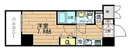ジュネーゼグラン福島Noda[2階]の間取り