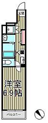レジデンス北鎌倉[205号室]の間取り