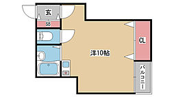 兵庫県神戸市東灘区田中町1丁目の賃貸アパートの間取り
