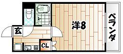 オグラMシミズ[2階]の間取り