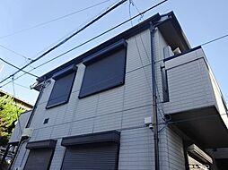 神奈川県横浜市鶴見区潮田町3丁目の賃貸アパートの外観