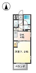 フローラル東別院[11階]の間取り