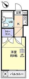 エクセレントF−I[2階]の間取り