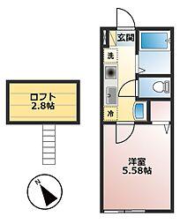 仮)小山1丁目新築物件[104号室]の間取り