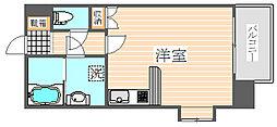 ウエストサイド箱崎[3階]の間取り