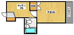 北岡ビル[2階]の間取り