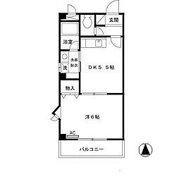 グランシャリオ[3階]の間取り