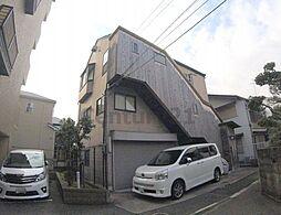 兵庫県宝塚市小浜3丁目の賃貸アパートの外観