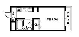 ハイツTA[5階]の間取り