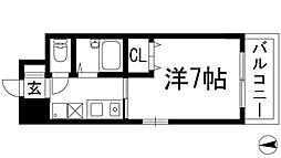 CASA AZUL[3階]の間取り