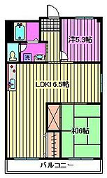 第2武笠ビル[2階]の間取り