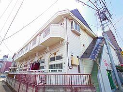 東京都西東京市谷戸町3丁目の賃貸アパートの外観