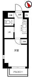 スカイコート早稲田第5[208号室号室]の間取り