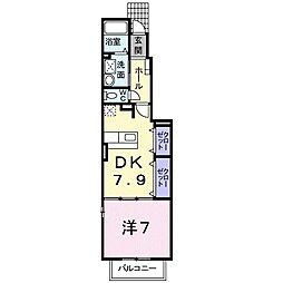 MステージIII[1階]の間取り