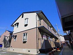 ルミエールB[2階]の外観