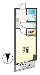 メイセイハイツI[4階]の間取り