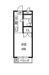 サンハイム石坂[2階]の間取り