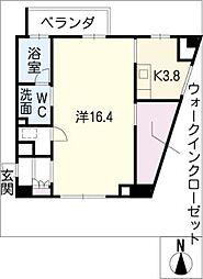 名古屋ASTONビル THE ASTON HOUSE[5階]の間取り