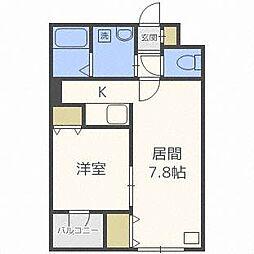 HS213[3階]の間取り
