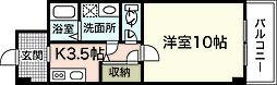 ティニーMatsuyama[7階]の間取り