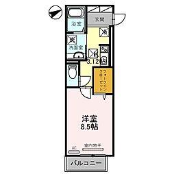 (仮称)D−room牧野下島町[2階]の間取り