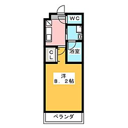 アップルコート本郷[2階]の間取り