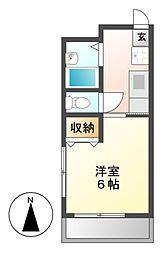 メゾン・ド・星ヶ丘セーヌ[2階]の間取り