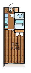 グランメール町田[3階]の間取り