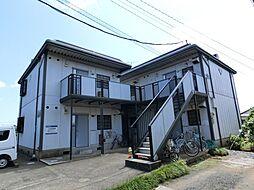 千葉県八街市富山の賃貸アパートの外観