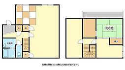 [一戸建] 兵庫県姫路市北平野6丁目 の賃貸【兵庫県 / 姫路市】の間取り