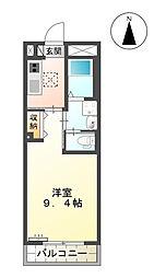 (仮)西町マンション[305号室]の間取り