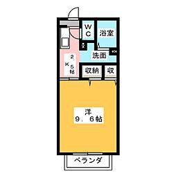 メゾンすみれ[2階]の間取り