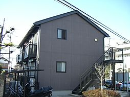 東京都町田市鶴間6丁目の賃貸アパートの外観