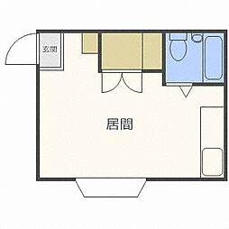 NOA豊平[3階]の間取り