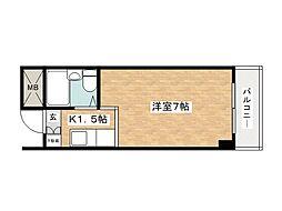 RKAマンション[3階]の間取り