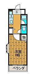 神奈川県相模原市南区上鶴間6丁目の賃貸マンションの間取り