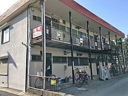 コーポ武蔵野[102号室]の外観