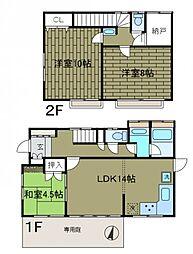 [一戸建] 神奈川県相模原市南区相南3丁目 の賃貸【/】の間取り