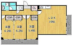 Maison S&T[1階]の間取り