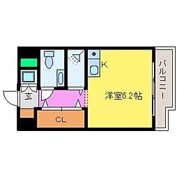 ワコーレプラティーク神戸深江駅前[903号室号室]の間取り