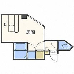 ルミエールアライII[2階]の間取り