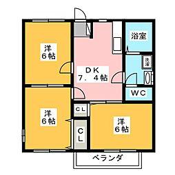 COMO[2階]の間取り
