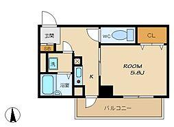 コモグランツ[2階]の間取り