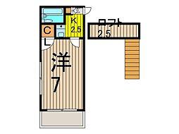 ノースコート浦和[106号室]の間取り