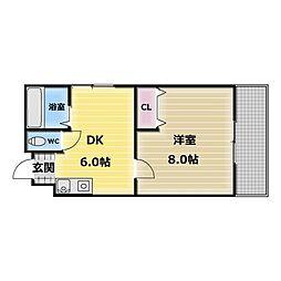 カーサAY[2階]の間取り