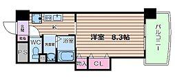 堀江アージュ[6階]の間取り